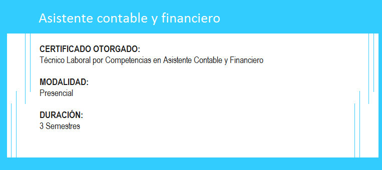 Contable y financiero